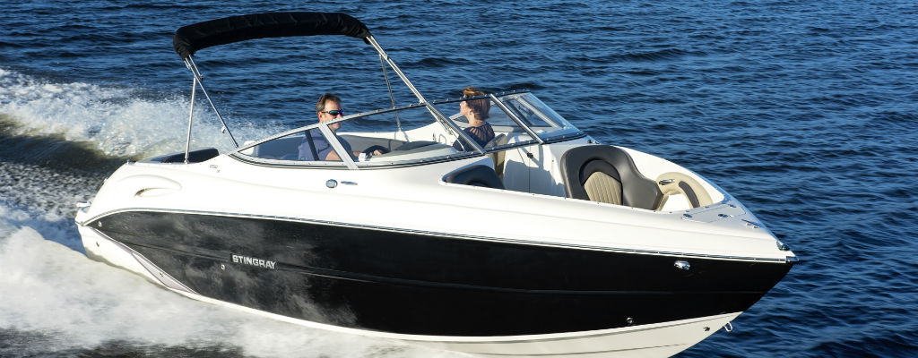 Stingray 250LR Boat