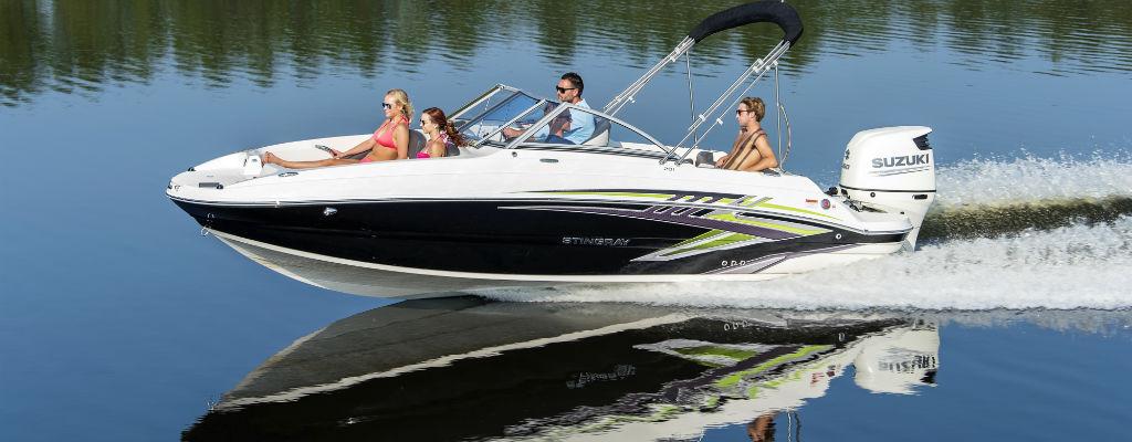 Stingray 201 DC Boat