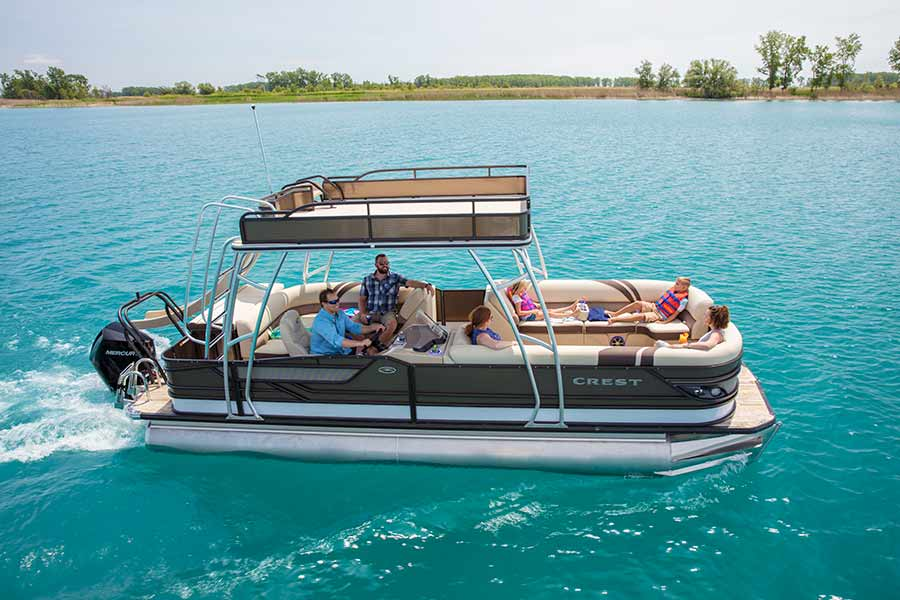 Crest Pontoon Boat